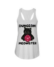 Bungeon Meowster Ladies Flowy Tank thumbnail