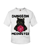 Bungeon Meowster Youth T-Shirt thumbnail
