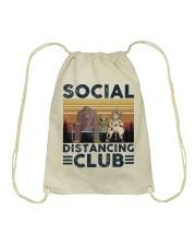Social Distancing Drawstring Bag thumbnail