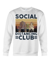 Social Distancing Crewneck Sweatshirt thumbnail