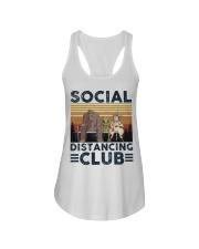 Social Distancing Ladies Flowy Tank thumbnail