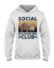 Social Distancing Hooded Sweatshirt thumbnail