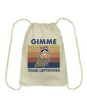 Raccoon Gimme Drawstring Bag thumbnail