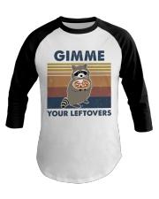 Raccoon Gimme Baseball Tee thumbnail