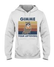 Raccoon Gimme Hooded Sweatshirt front