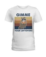 Raccoon Gimme Ladies T-Shirt thumbnail