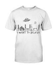 I Want To Believe Classic T-Shirt tile