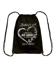 Daddy Girl Now He Is Mine Drawstring Bag thumbnail