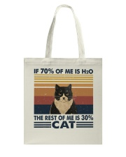 If 70 Percent Of Me Is H2O Tote Bag thumbnail