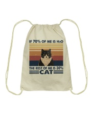 If 70 Percent Of Me Is H2O Drawstring Bag tile