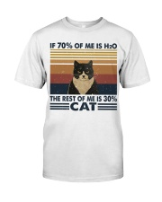 If 70 Percent Of Me Is H2O Classic T-Shirt thumbnail