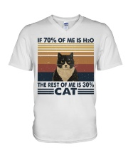 If 70 Percent Of Me Is H2O V-Neck T-Shirt thumbnail