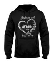 Daddy Girl Now He Is Mine Hooded Sweatshirt front
