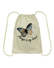 Your Wings Were Ready Drawstring Bag thumbnail