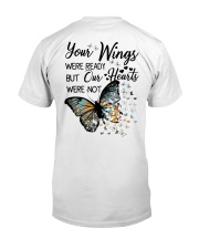 Your Wings Were Ready Classic T-Shirt back