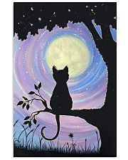 Cat And Moon Art 11x17 Poster front