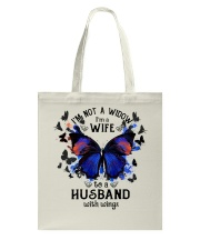 My Husband With Wings Tote Bag thumbnail