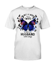 My Husband With Wings Classic T-Shirt front