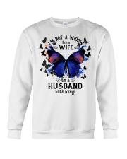My Husband With Wings Crewneck Sweatshirt thumbnail