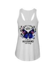 My Husband With Wings Ladies Flowy Tank thumbnail
