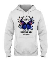 My Husband With Wings Hooded Sweatshirt thumbnail