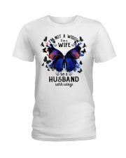 My Husband With Wings Ladies T-Shirt thumbnail