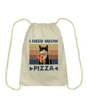 I Need Meow Drawstring Bag tile