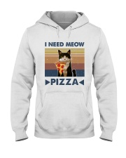 I Need Meow Hooded Sweatshirt front