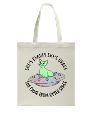 She Came Form Outer Space Tote Bag thumbnail