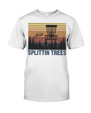 Splittin Trees Classic T-Shirt front