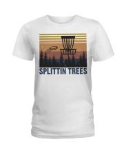 Splittin Trees Ladies T-Shirt thumbnail
