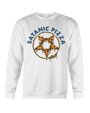 Satanic Pizza Crewneck Sweatshirt tile