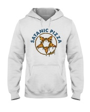 Satanic Pizza Hooded Sweatshirt thumbnail