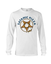 Satanic Pizza Long Sleeve Tee thumbnail
