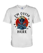 I Am Outta Here V-Neck T-Shirt thumbnail