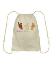 Whose Hand Drawstring Bag thumbnail