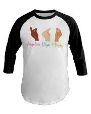 Whose Hand Baseball Tee thumbnail