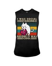 I Was Social Sleeveless Tee thumbnail