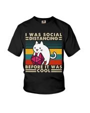 I Was Social Youth T-Shirt thumbnail