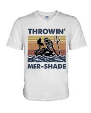 Throwin Mer Shade V-Neck T-Shirt thumbnail