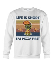 Life Is Short Crewneck Sweatshirt thumbnail