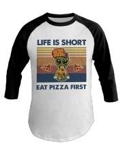 Life Is Short Baseball Tee thumbnail