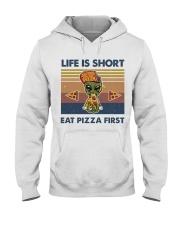 Life Is Short Hooded Sweatshirt front