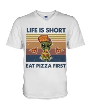 Life Is Short V-Neck T-Shirt thumbnail