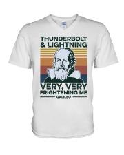 Thunderbolt V-Neck T-Shirt thumbnail