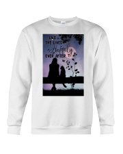 And She Lived Happily Crewneck Sweatshirt thumbnail
