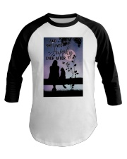 And She Lived Happily Baseball Tee thumbnail