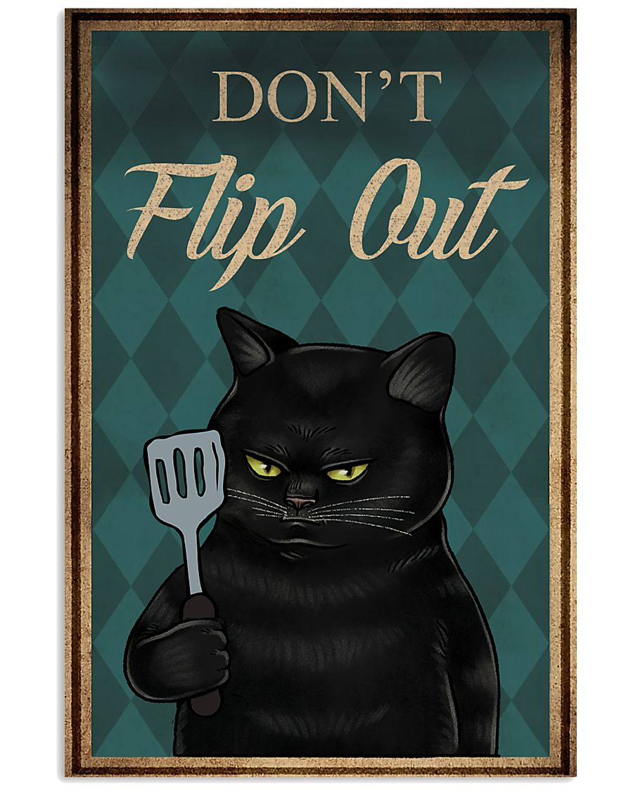 Do Not Flip Out 11x17 Poster