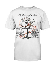 My Husband My Angel Classic T-Shirt front