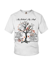 My Husband My Angel Youth T-Shirt tile